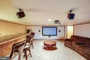 Bar & Theater area - 29 SARASOTA DR, STAFFORD