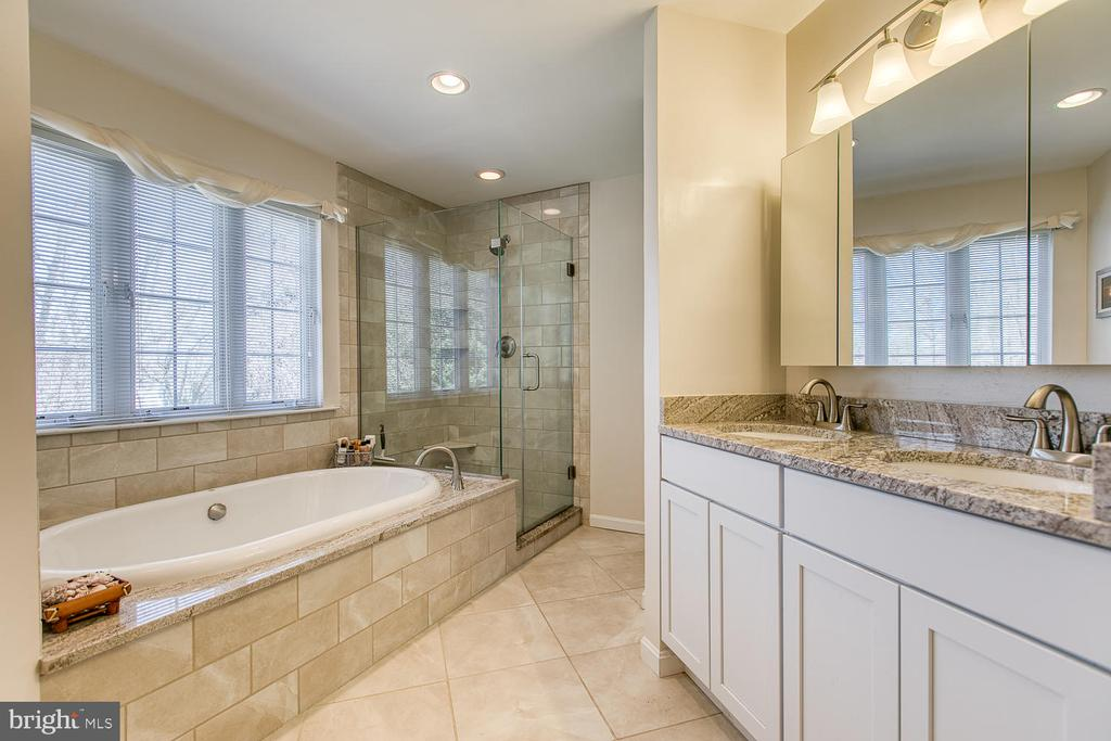 Master Bath - 265 GREENSPRING DR, STAFFORD