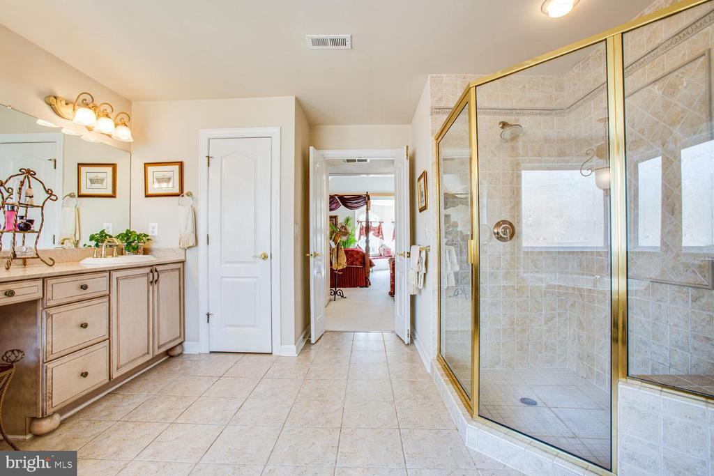 Luxurious master bathroom - 11400 STONEWALL JACKSON DR, SPOTSYLVANIA