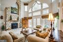 Fabulous natural light from the wall of windows - 11400 STONEWALL JACKSON DR, SPOTSYLVANIA