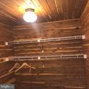 Spacious walk-in cedar closet for added storage... - 7504 GLENNON DR, BETHESDA