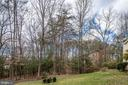 Wooded yard - 42 MOURNING DOVE DR, STAFFORD