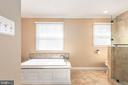 Luxurious jetted master tub - 42 MOURNING DOVE DR, STAFFORD