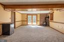 Spacious recreation room walk out in basement - 42 MOURNING DOVE DR, STAFFORD