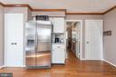 Large pantry &side by side fridge w/ water &  ice - 42 MOURNING DOVE DR, STAFFORD