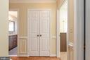 Two linen closets in upper hallway - 42 MOURNING DOVE DR, STAFFORD