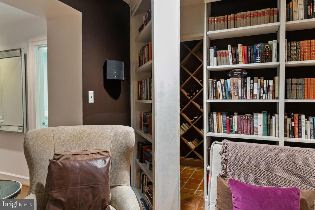 Hidden Door Opens to Wine Cellar - 3087 ORDWAY ST NW, WASHINGTON