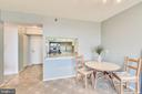 Kitchen Pass-through - 1808 OLD MEADOW RD #1011, MCLEAN