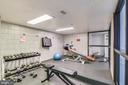 Work-Out Room on Lobby Level - 1808 OLD MEADOW RD #1011, MCLEAN