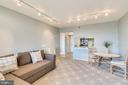 Living Dining Area With Great Carpeting - 1808 OLD MEADOW RD #1011, MCLEAN