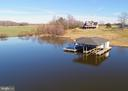 Overhead view from Lake to Home - 7480 DON RD, MINERAL