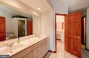 Master Bath with dual vanity - 7480 DON RD, MINERAL