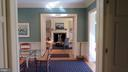 Enfilade from Kitchen to Living Room - 110 LINDEN LN, FLINT HILL