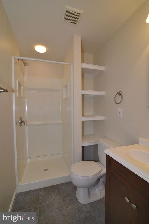 Full Basement Bath - 14776 BASINGSTOKE LOOP, CENTREVILLE