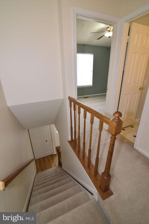 landing and stairwell to upper level - 14776 BASINGSTOKE LOOP, CENTREVILLE