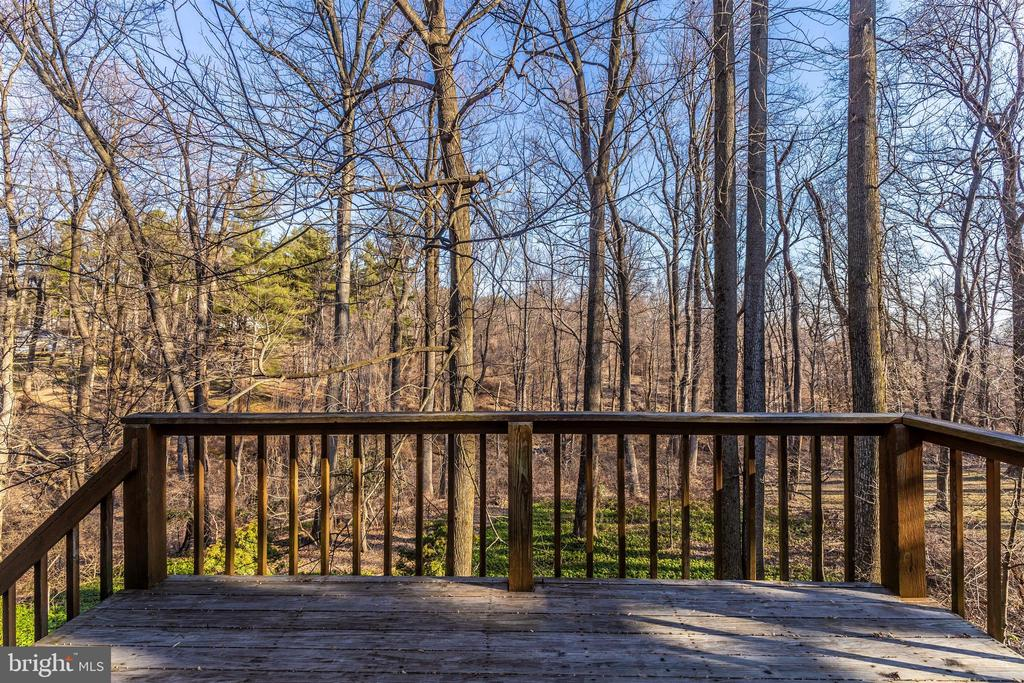 Deck overlooking nature! - 5800 MEADOW DR, FREDERICK