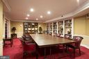 Library located in Party / Banquet room - 3001 VEAZEY TER NW #204, WASHINGTON