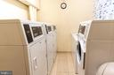 Laundry located on each floor - 3001 VEAZEY TER NW #204, WASHINGTON