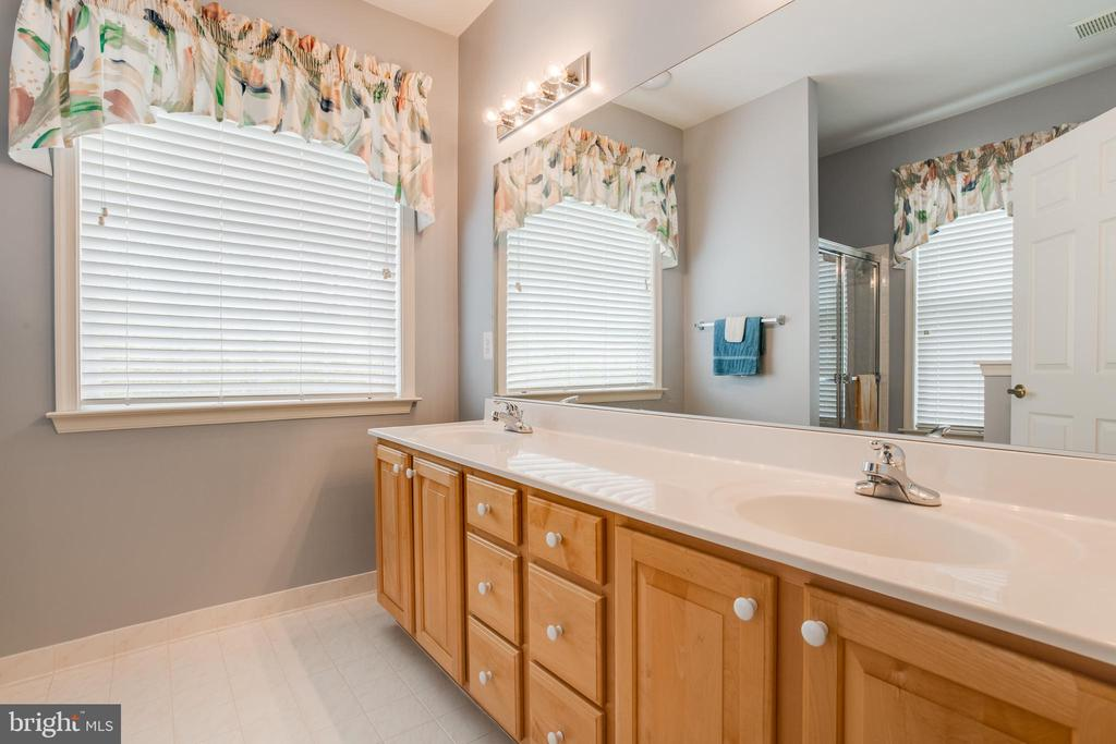 Dual sinks in the Master Bathroom - 13533 RYTON RIDGE LN, GAINESVILLE