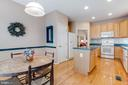 Breakfast are in kitchen with kitchen table space! - 13533 RYTON RIDGE LN, GAINESVILLE
