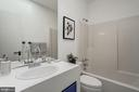 Hall Bathroom - 4708 DORSET AVE, CHEVY CHASE