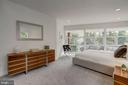 Generous Master Bedroom Suite - 4708 DORSET AVE, CHEVY CHASE