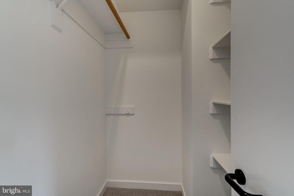 Walk-In Closet in Master Bedroom - 4708 DORSET AVE, CHEVY CHASE