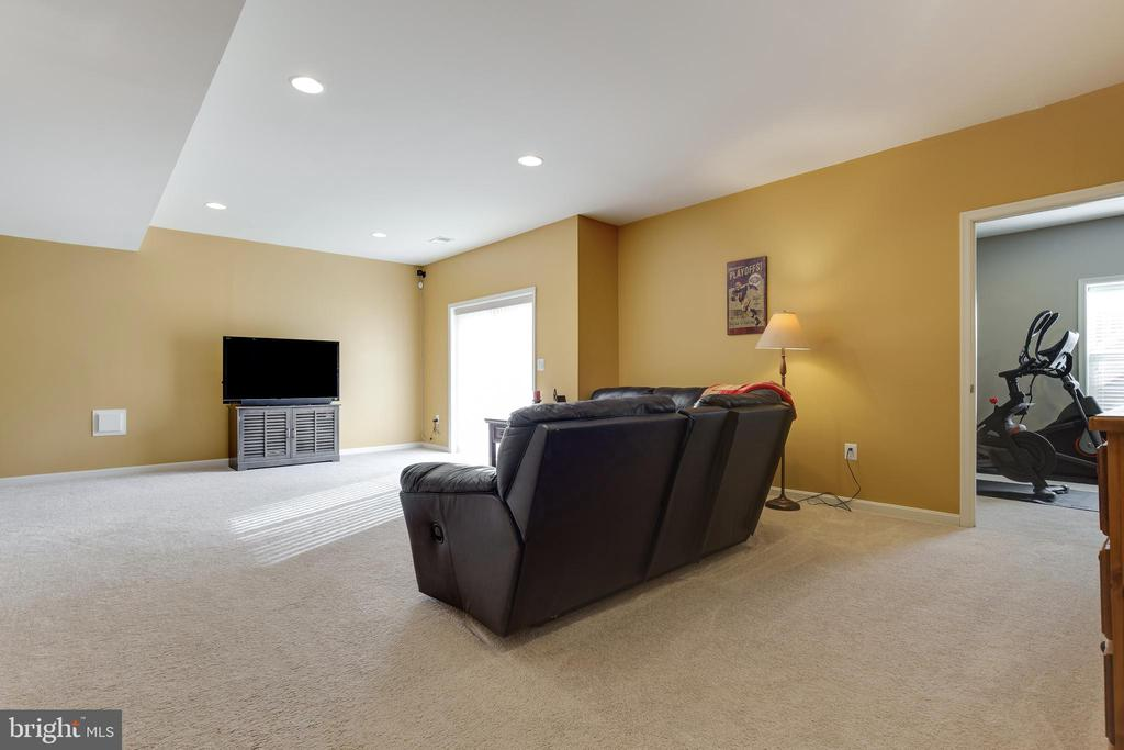Basement Rec Room - 18751 PIER TRAIL DR, TRIANGLE