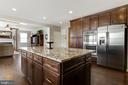 Kitchen Island - 18751 PIER TRAIL DR, TRIANGLE