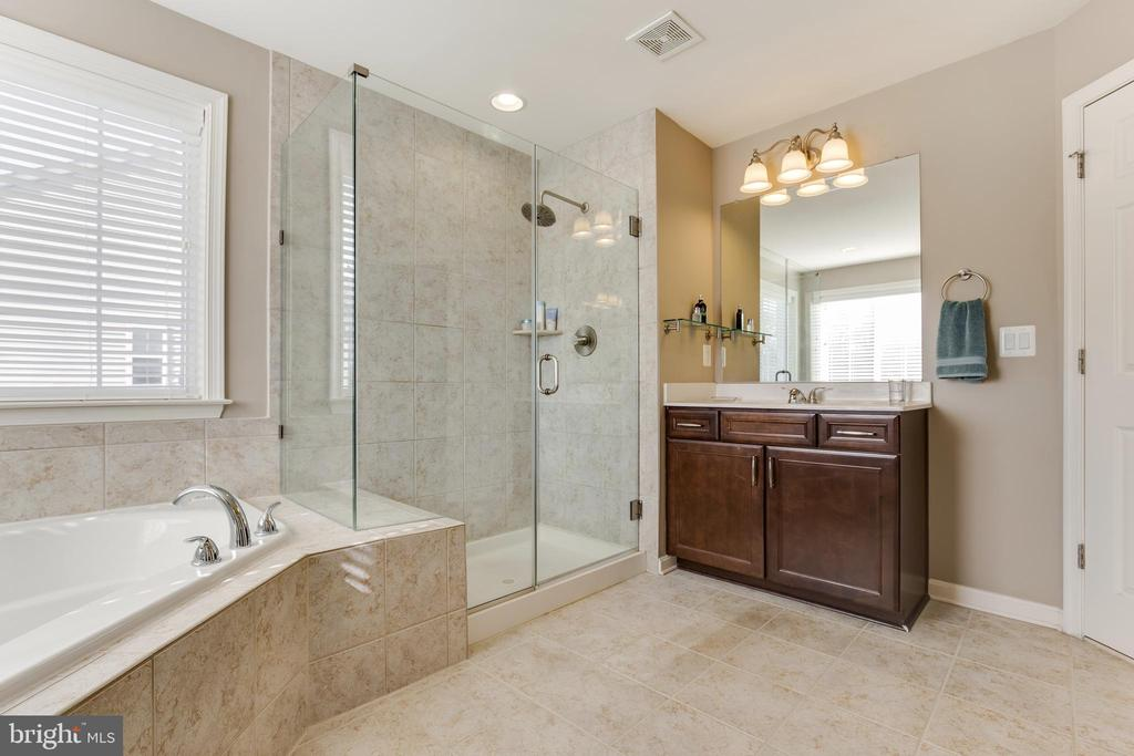 Master Bath 1st Vanity - 18751 PIER TRAIL DR, TRIANGLE
