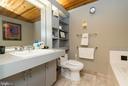 Guest suite bath. - 2901 BOSTON ST #214, BALTIMORE