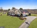 Side View from driveway - 2407 FLAG MARSH RD, MOUNT AIRY