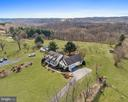 Aerial view - 2407 FLAG MARSH RD, MOUNT AIRY