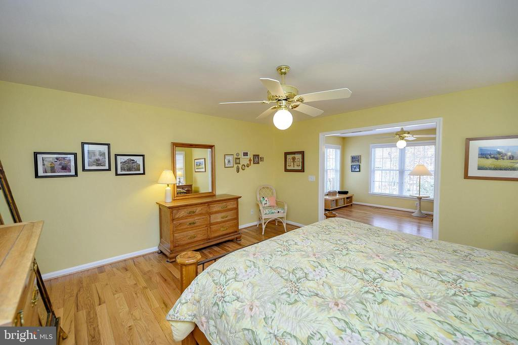 Another view of this large master suite. - 509 MT PLEASANT DR, LOCUST GROVE