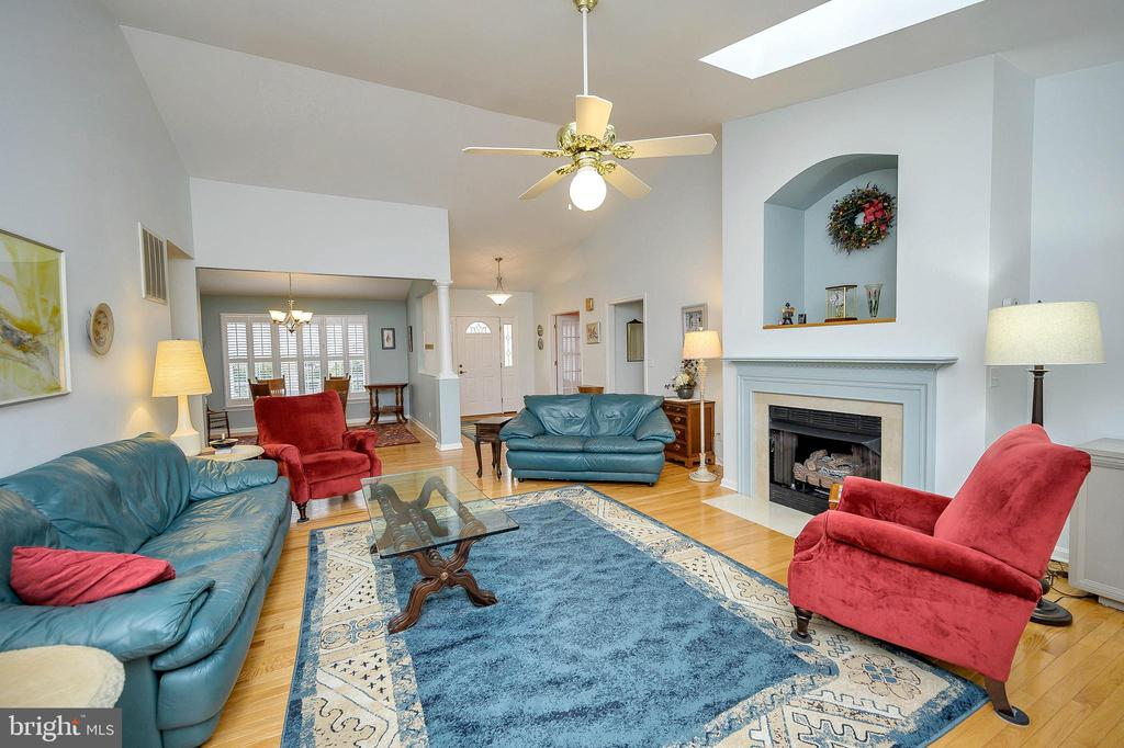 Great Room showing view of Dining Room. - 509 MT PLEASANT DR, LOCUST GROVE