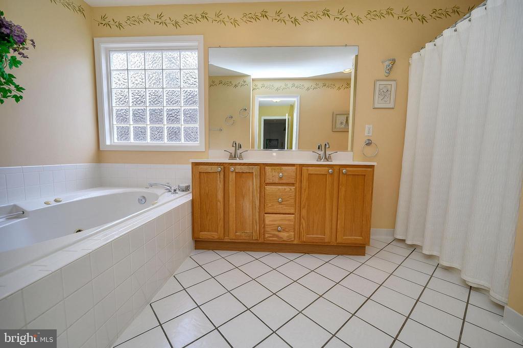 Spacious master bath. - 509 MT PLEASANT DR, LOCUST GROVE