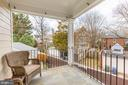 the covered porch - 5536 30TH PL NW, WASHINGTON