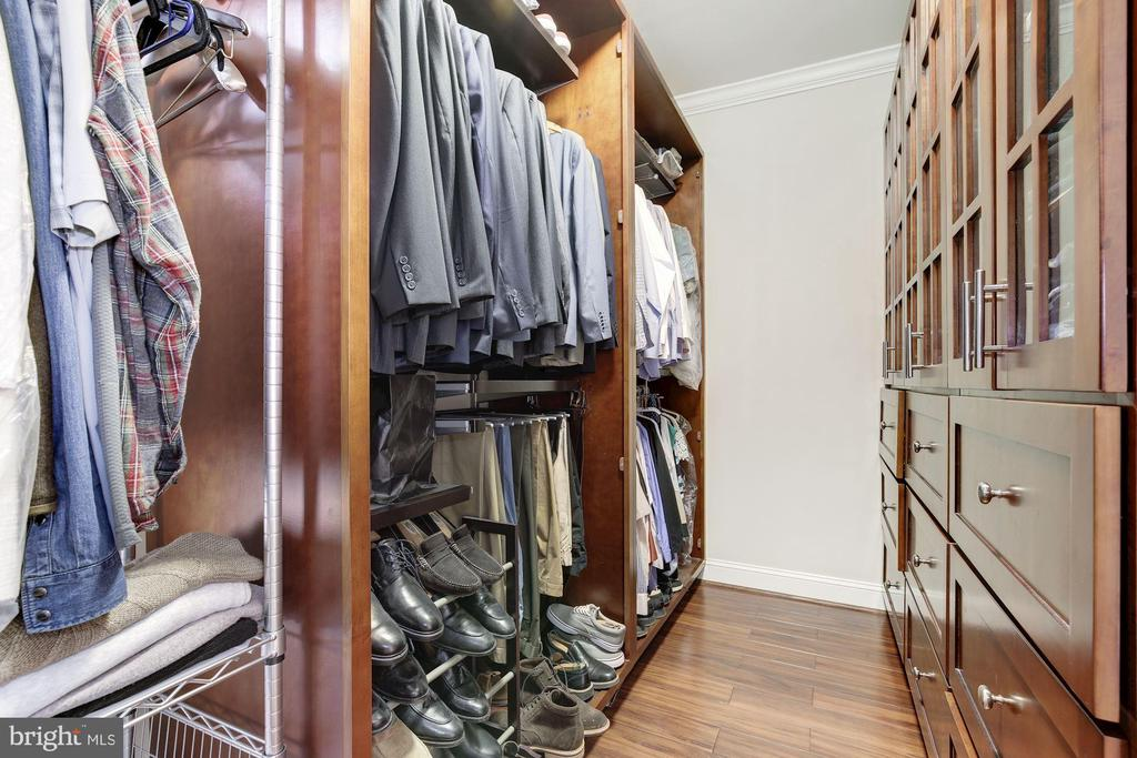 Large built out owner's closet - 5536 30TH PL NW, WASHINGTON
