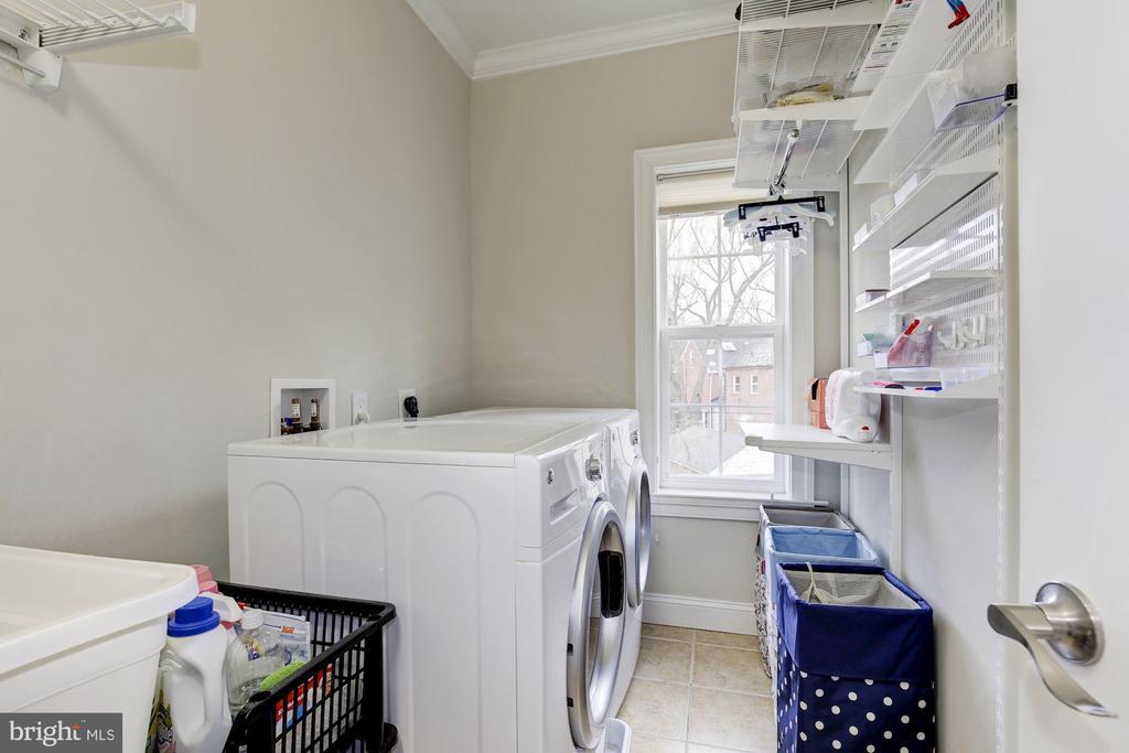 Bedroom level laundry room - 5536 30TH PL NW, WASHINGTON