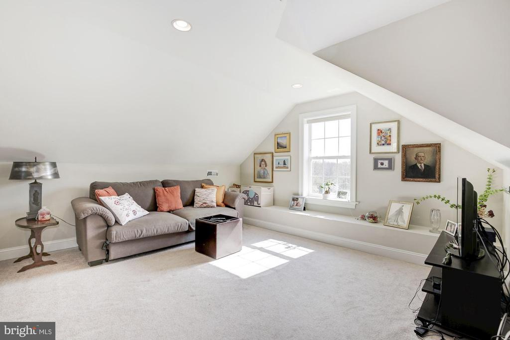 Third floor open play area with vaulted ceiling - 5536 30TH PL NW, WASHINGTON