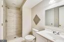 Lower Level Bath - 201 W WALNUT ST, ALEXANDRIA