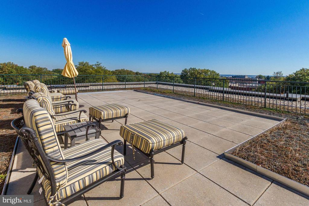Roof terrace - 2501 WISCONSIN AVE NW #104, WASHINGTON
