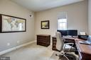 Bright bedroom 4 being used as an office on upper - 44536 STEPNEY DR, ASHBURN