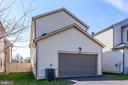 Finished 2-car garage with rear entry to home - 44536 STEPNEY DR, ASHBURN