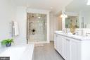 Master bathroom - 2715 N ST NW, WASHINGTON