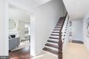 Entry foyer - 2715 N ST NW, WASHINGTON