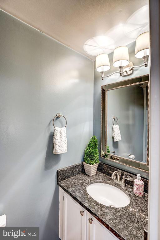 Half Bathroom on Main Level of Home! - 1614 OAK SPRING WAY, RESTON