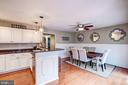 Kitchen  Features Breakfast Bar for Casual Dining! - 1614 OAK SPRING WAY, RESTON