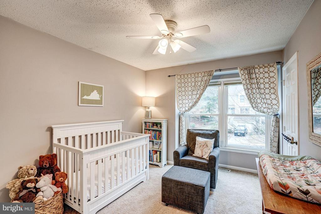 Bedroom #2 - Large Windows, Ceiling Fan! - 1614 OAK SPRING WAY, RESTON