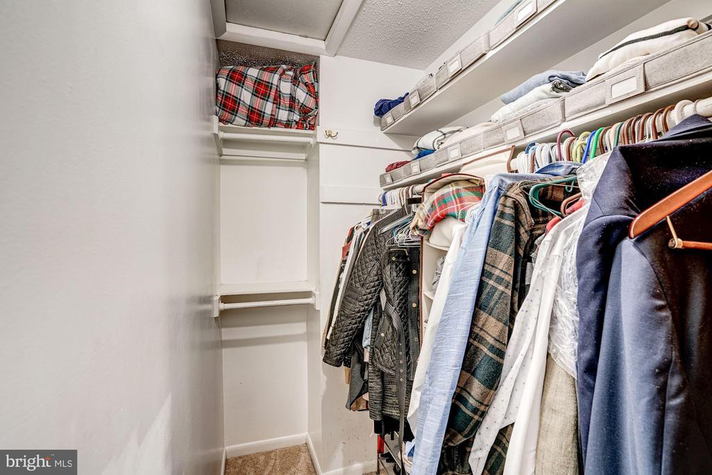 Master Bedroom Walk-In Closet! - 1614 OAK SPRING WAY, RESTON